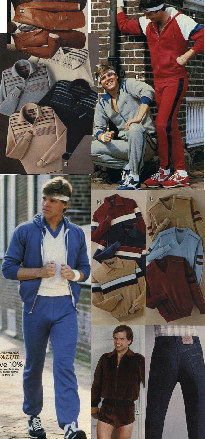 Bahahahaha 1983 Sears Christmas Catalog Men S Clothes 80s Fashion Men 80s Fashion Trends 80s Punk Fashion