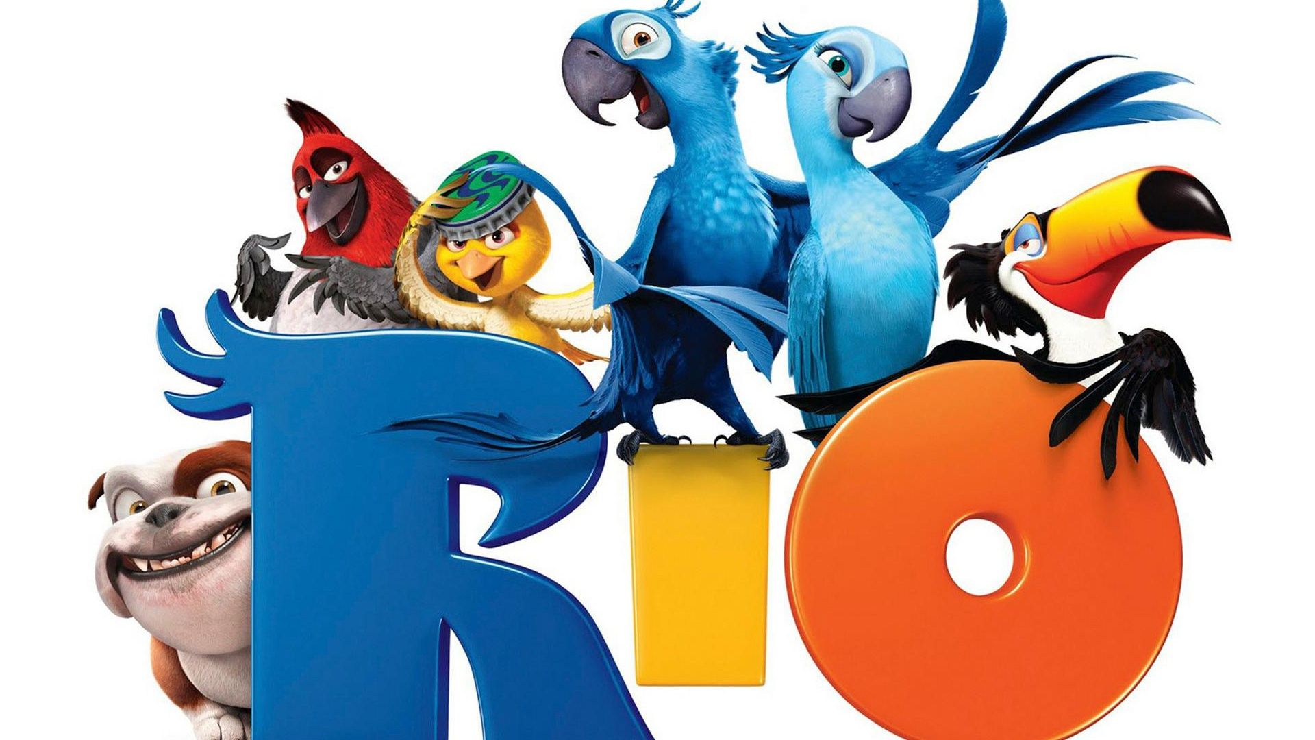 cartoon movie | Rio cartoon movie Wallpaper | 1920x1080 ...