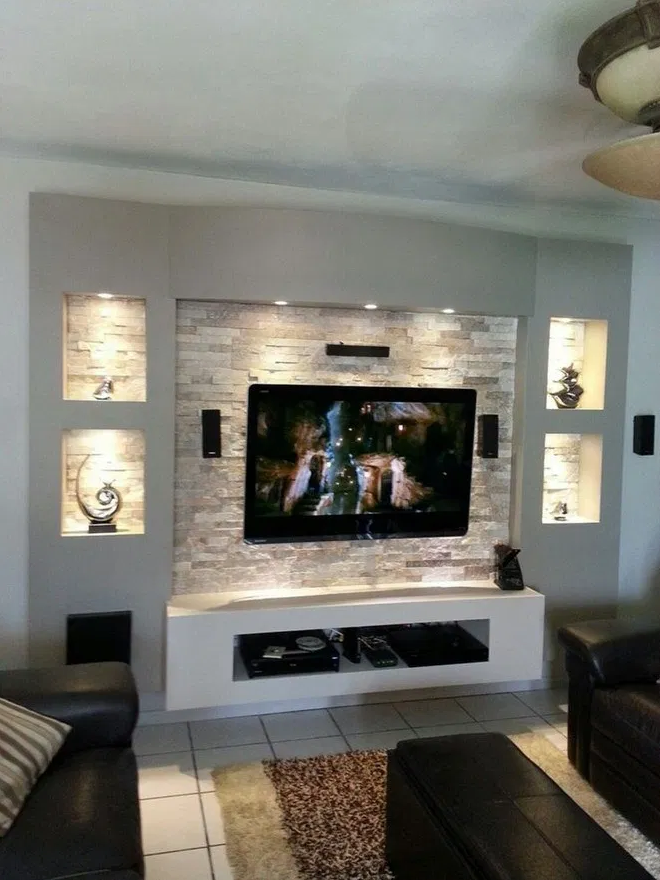 8 Best Tv Wall Designs Ideas On Your Budget Modern Living Room