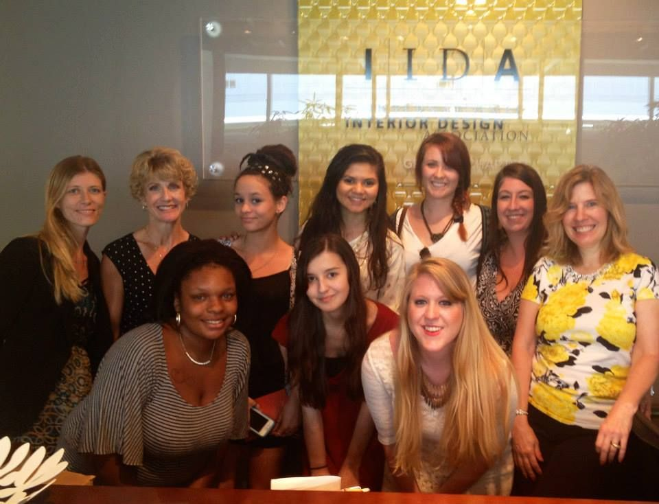 Athens technical college interior design students stop by