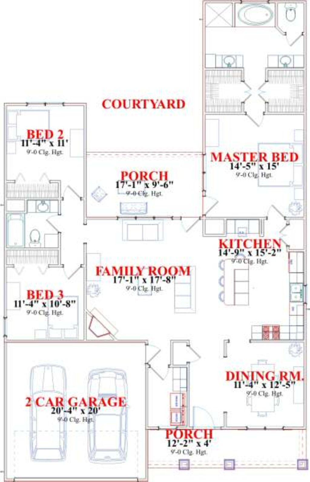 1787 sq ft 3 beds 2.00 baths