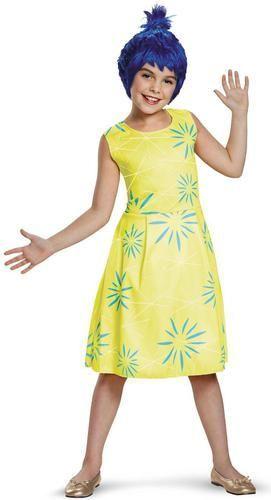 Disney Inside Out - Classic Joy Costume For Girls Costume Ideas - princess halloween costume ideas