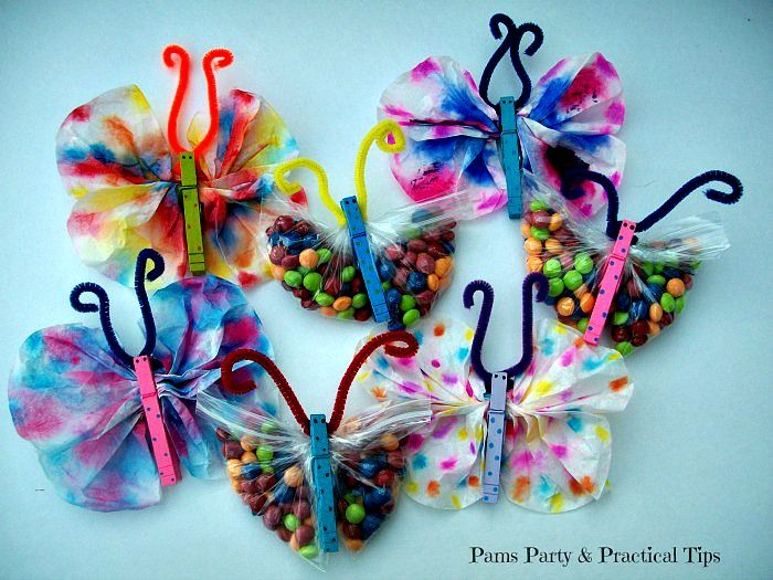 Butterfly Crafts With Coffee Filters Other Fun