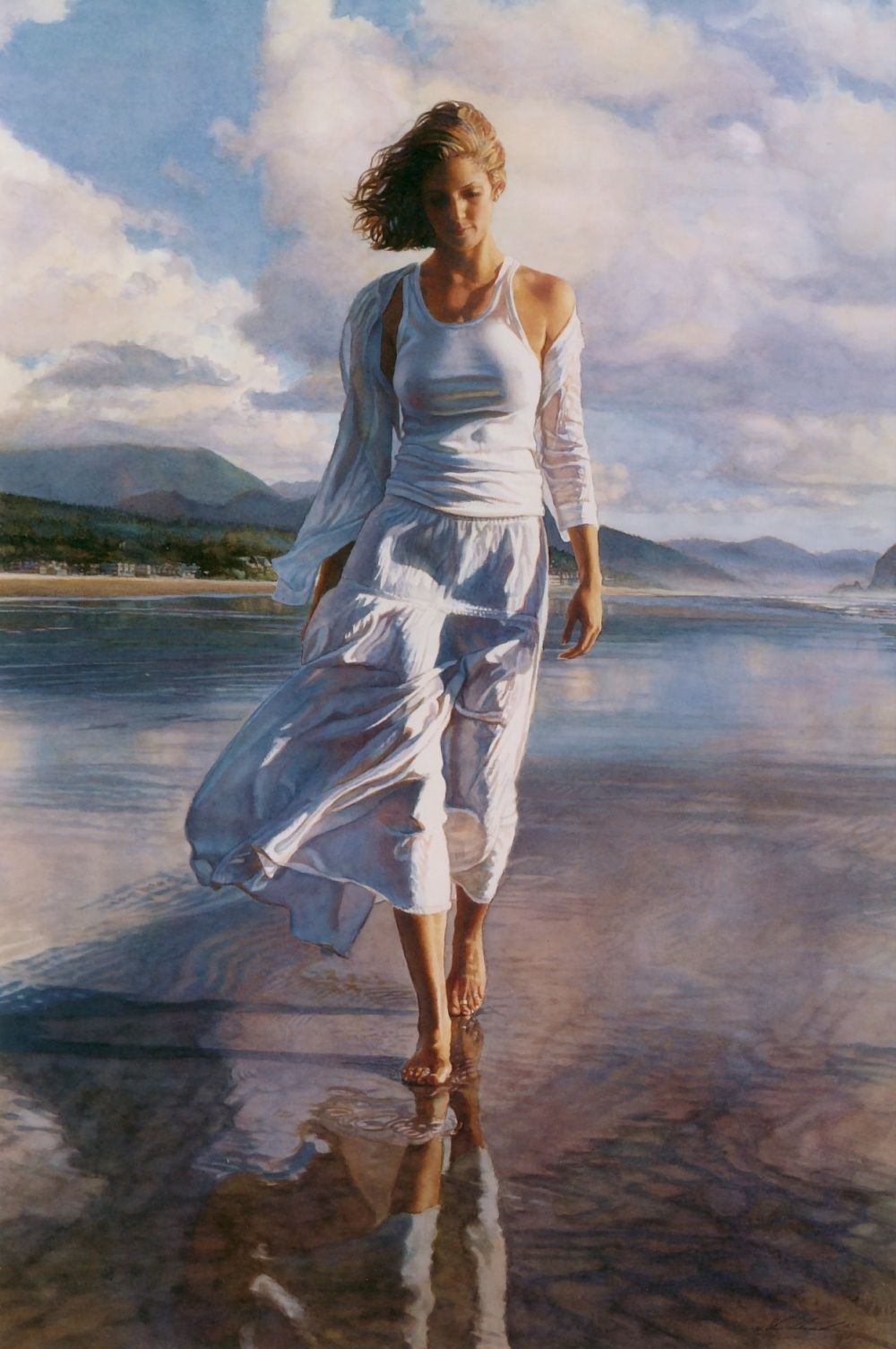 Steve Hanks: inspirational and romantic watercolors 78