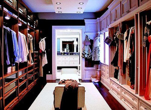 Carrie and Big's closet (!).