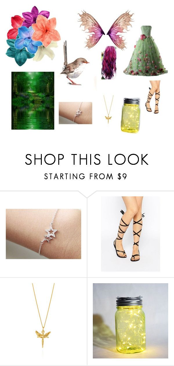 """""""I am a fairy"""" by dragonmaddi ❤ liked on Polyvore featuring Attic, ASOS, Joy Everley and WALL"""