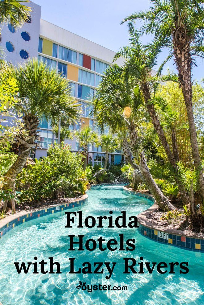 Florida Hotels With Lazy Rivers