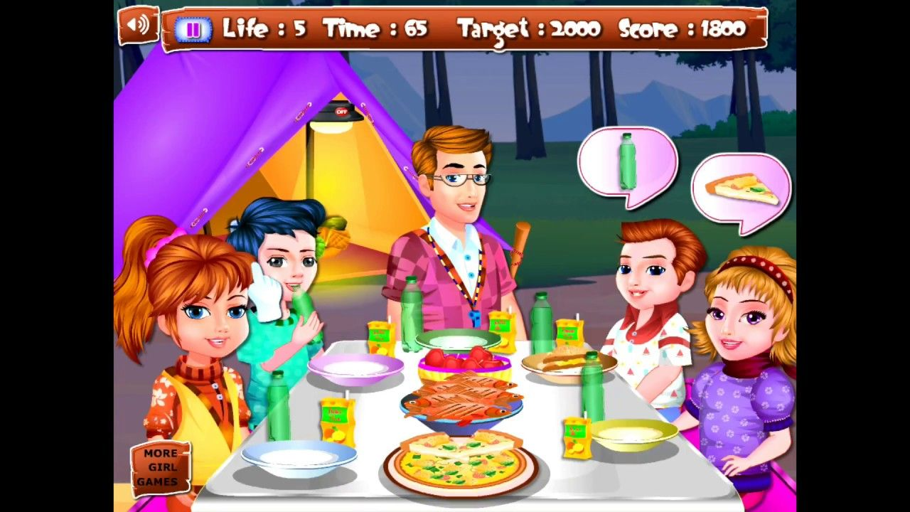 CRAZY TEAM CAMPING GAME CRAZY KID GAMES best android