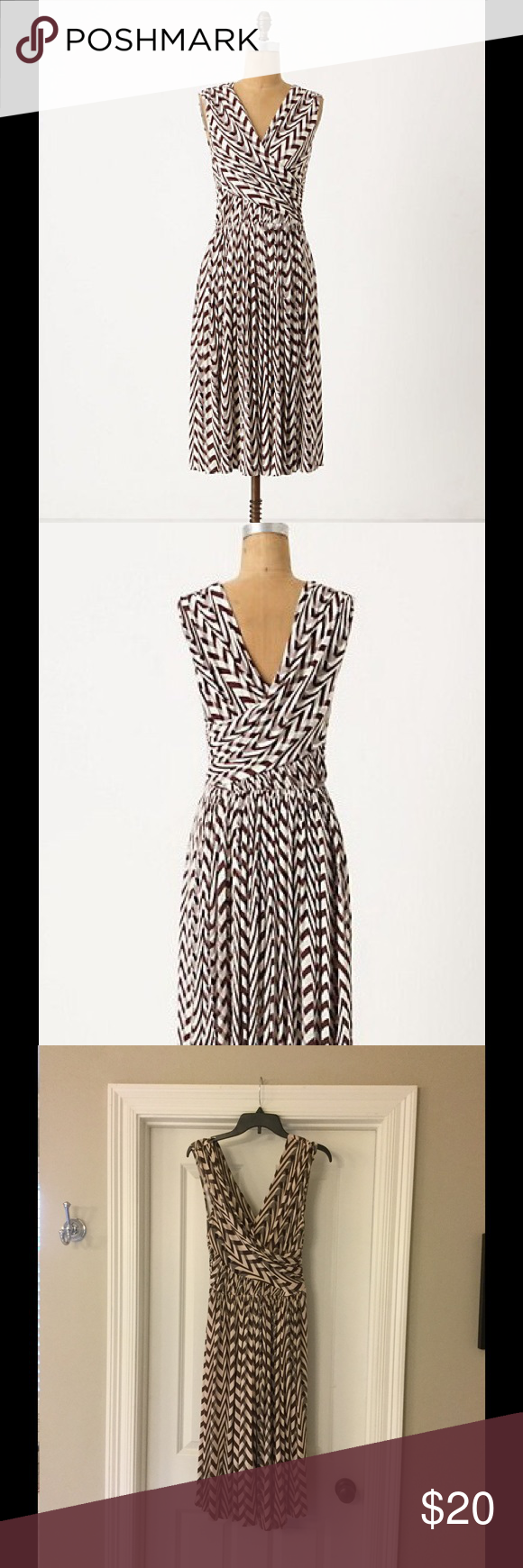 Anthro Plenty by Tracy Reese Dynamic Zigs Dress Anthropologie ...