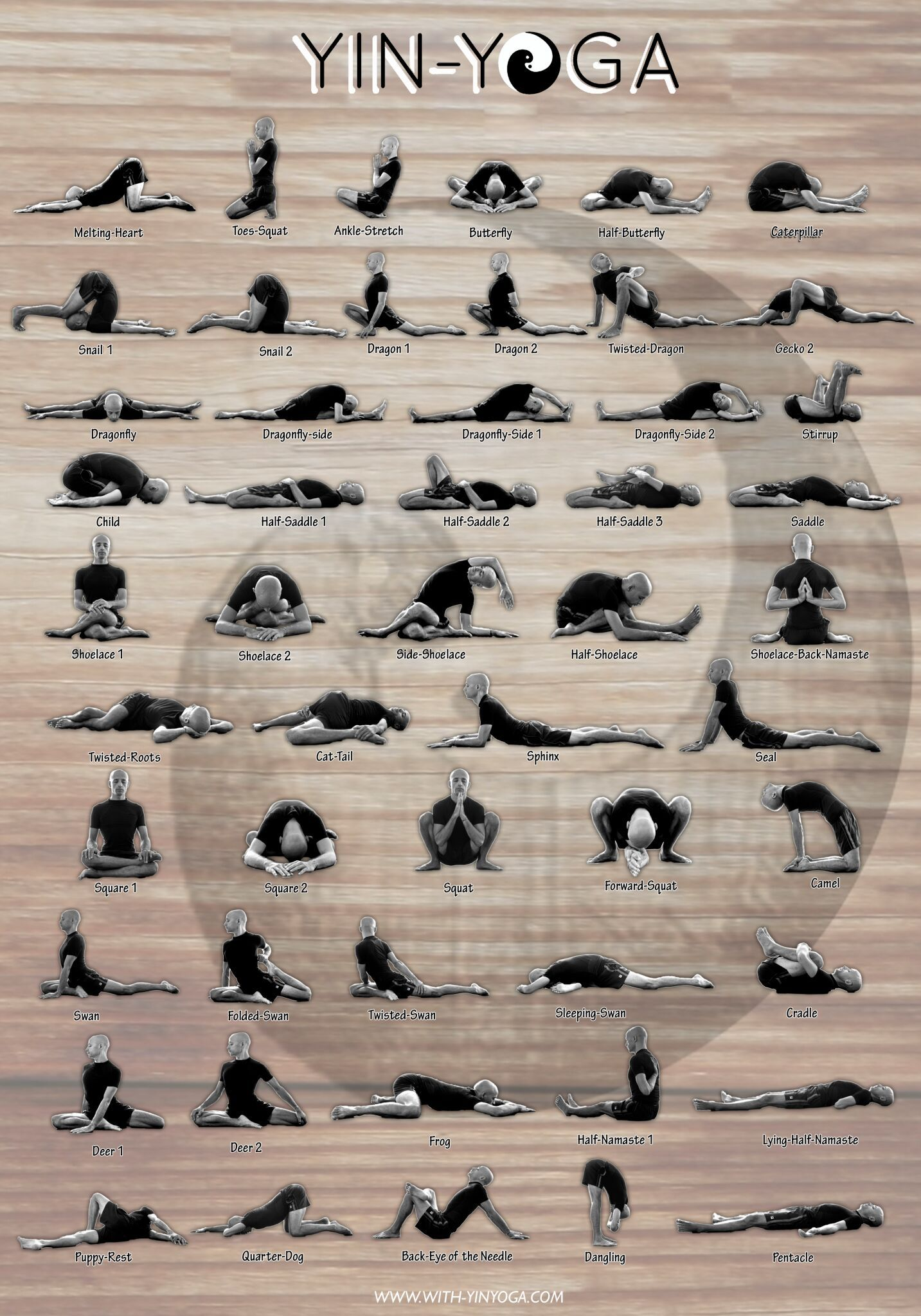 yoga asanas with pictures and benefits pdf