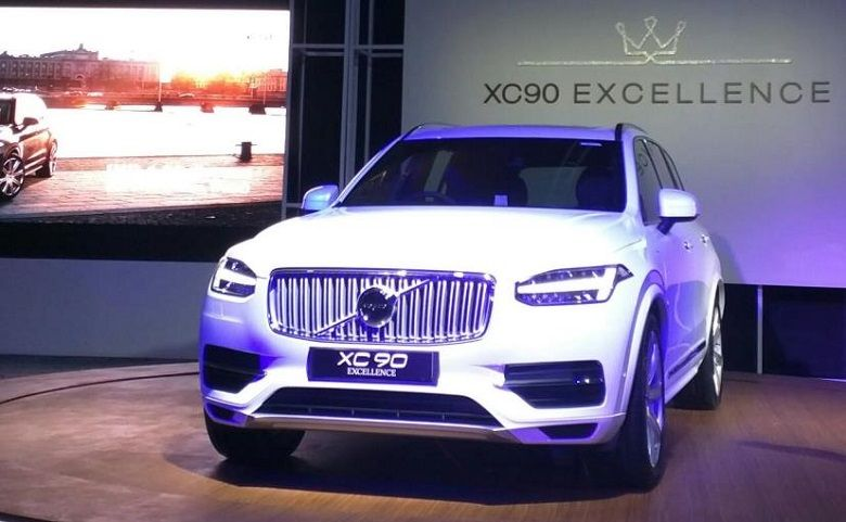 Volvo Launches Hybrid Suv Xc90 T8 Excellence At Rs 1 25 Crore