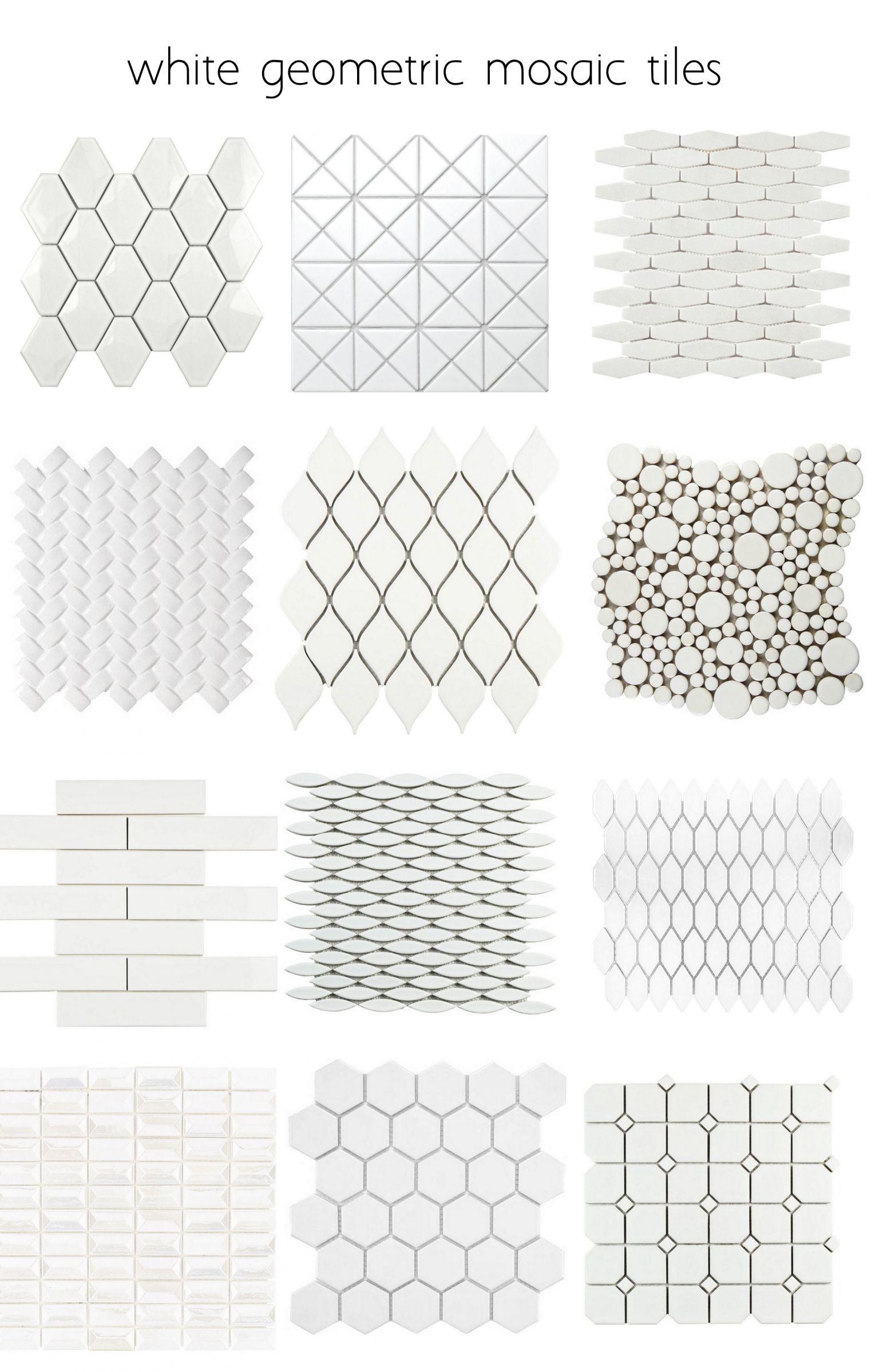 Alternatives To White Subway Tile Geometric Tiles Trendy