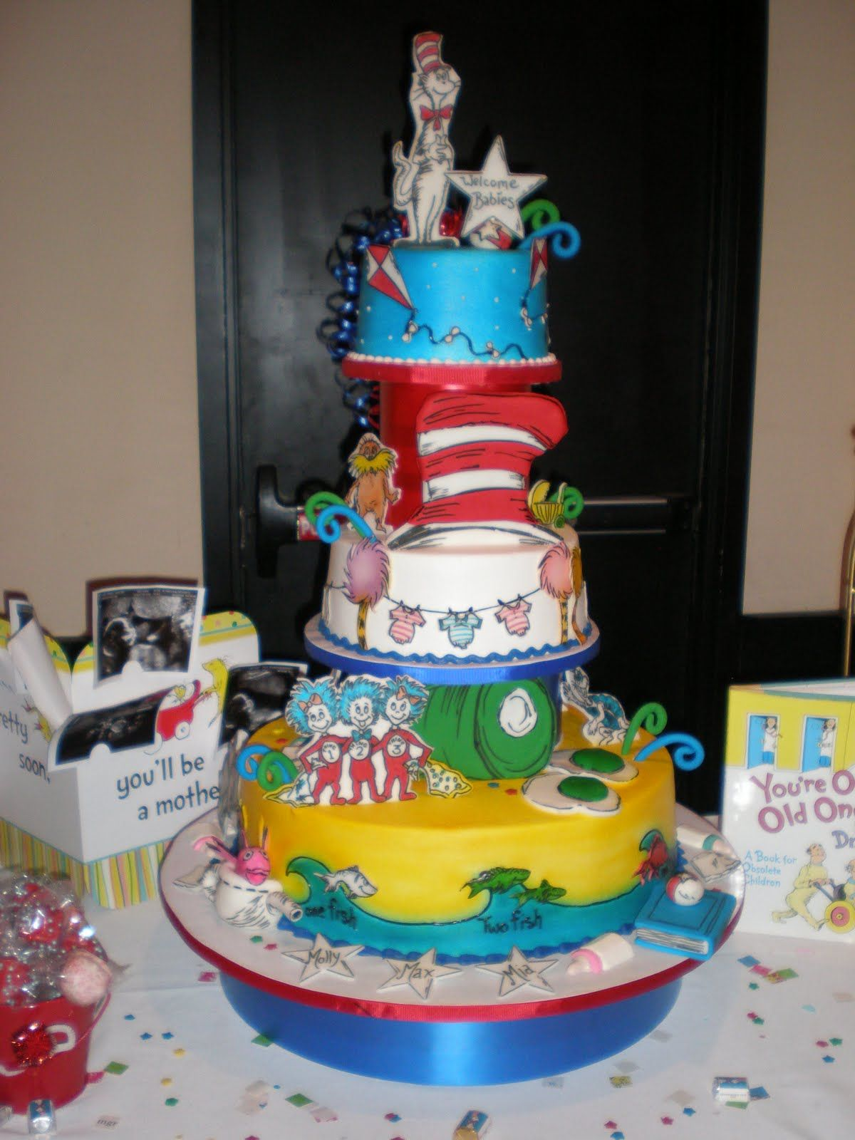 Natural Dr. Seuss Baby Shower Party Ideas and baby shower ...