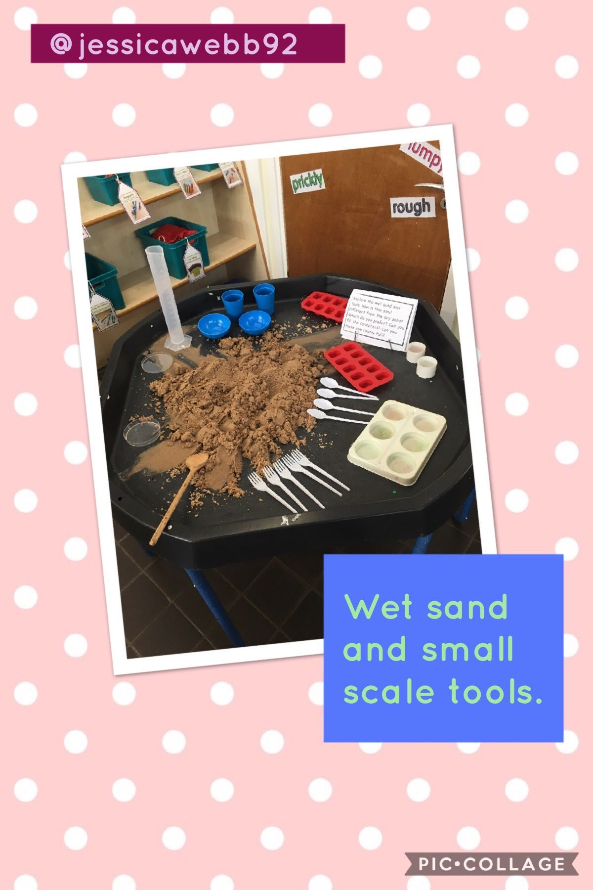 Exploring Capacity And Using Small Scale Tools In The Wet