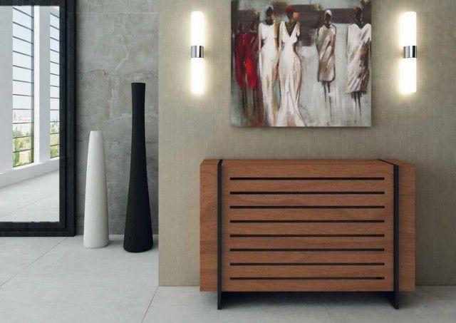 Cache radiateur - osez le bois afin de sublimer votre intérieur Tv