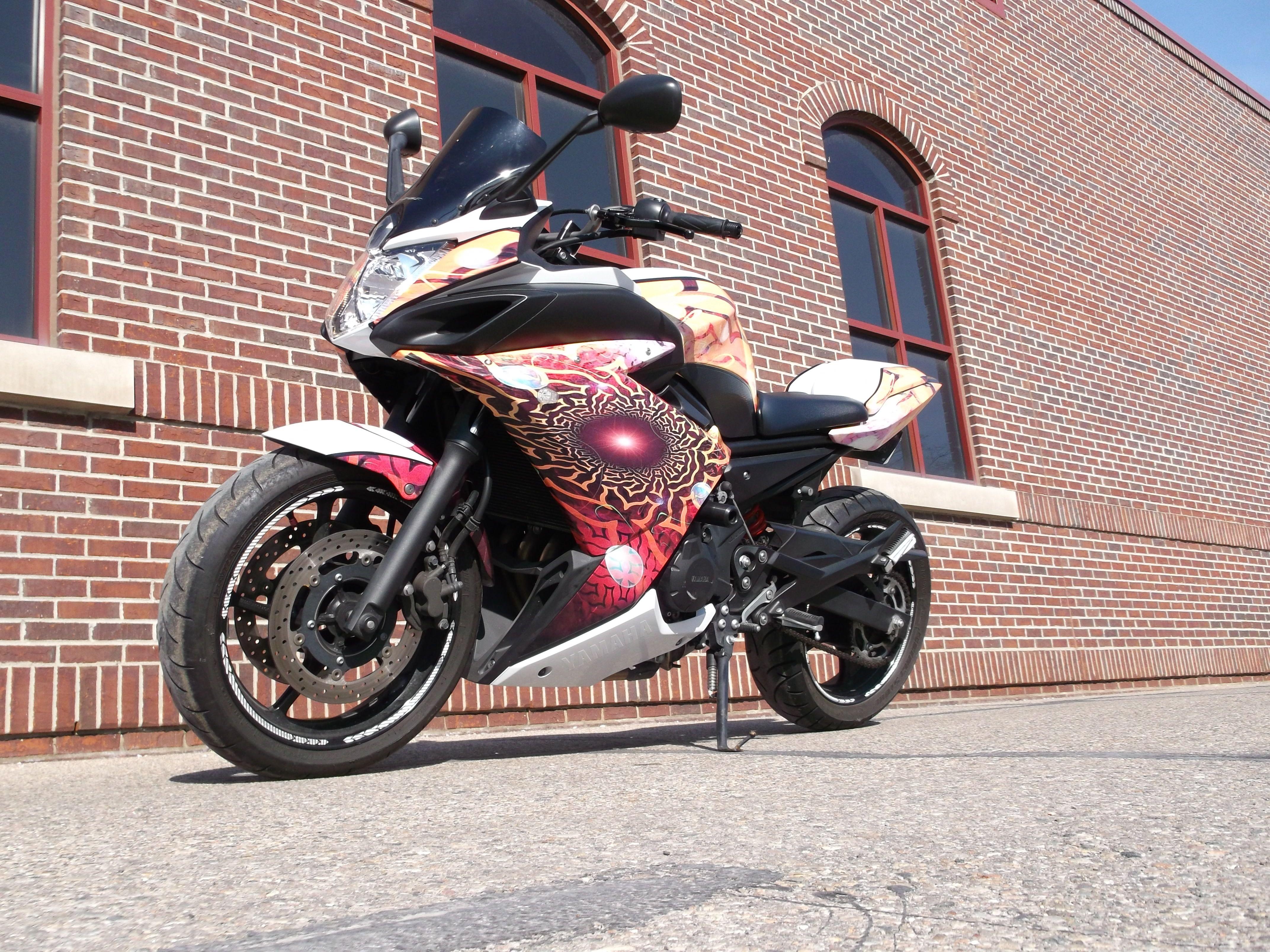 Yamaha Motorcycle Wrap Motorcycles Pinterest Yamaha