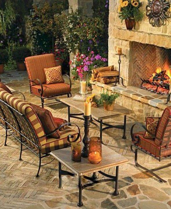 Fantastic Stone Patios Outdoor Living Areas Outdoor Living