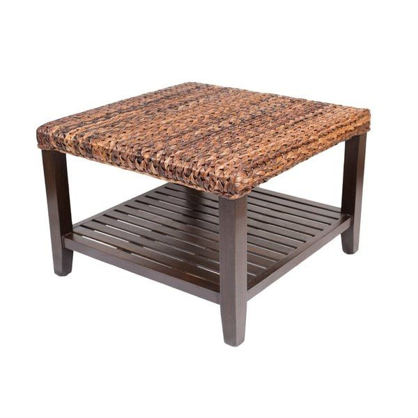 Birdrock Home Seagrass Coffee Table | Decorating Ideas ...