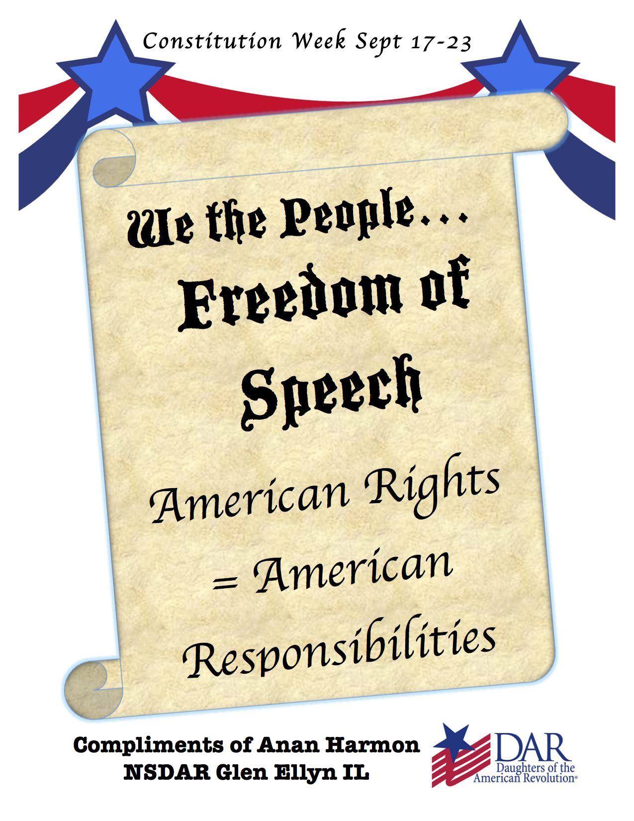 Free Constitution Week Resources Including Worksheets And