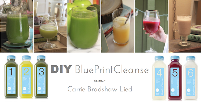 Diy blueprint cleanse carrie bradshaw lied agave nectar and green diy blueprint cleanse malvernweather Gallery