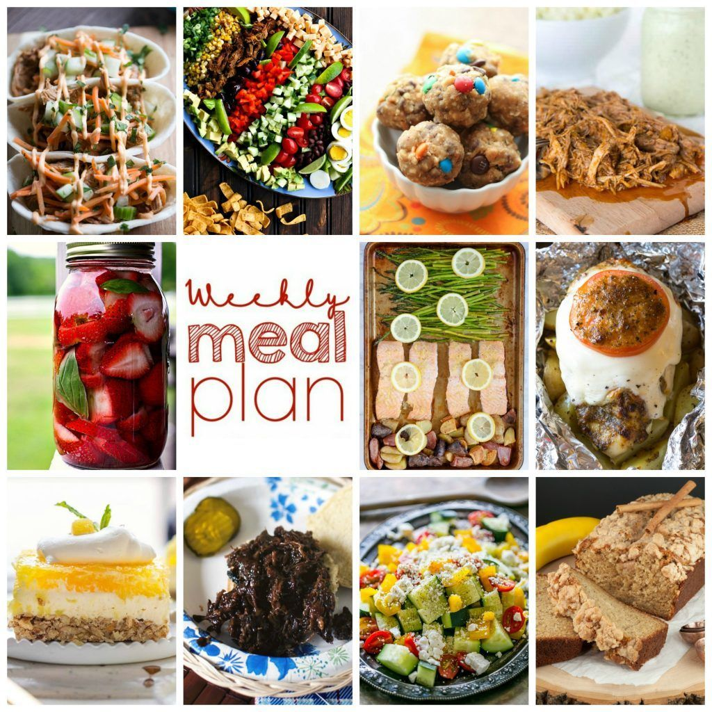 10 great bloggers bringing you a full week of recipes including dinner sides dishes and desserts Happy Saturday This weeks meal planis filled with recipes for Salmo...