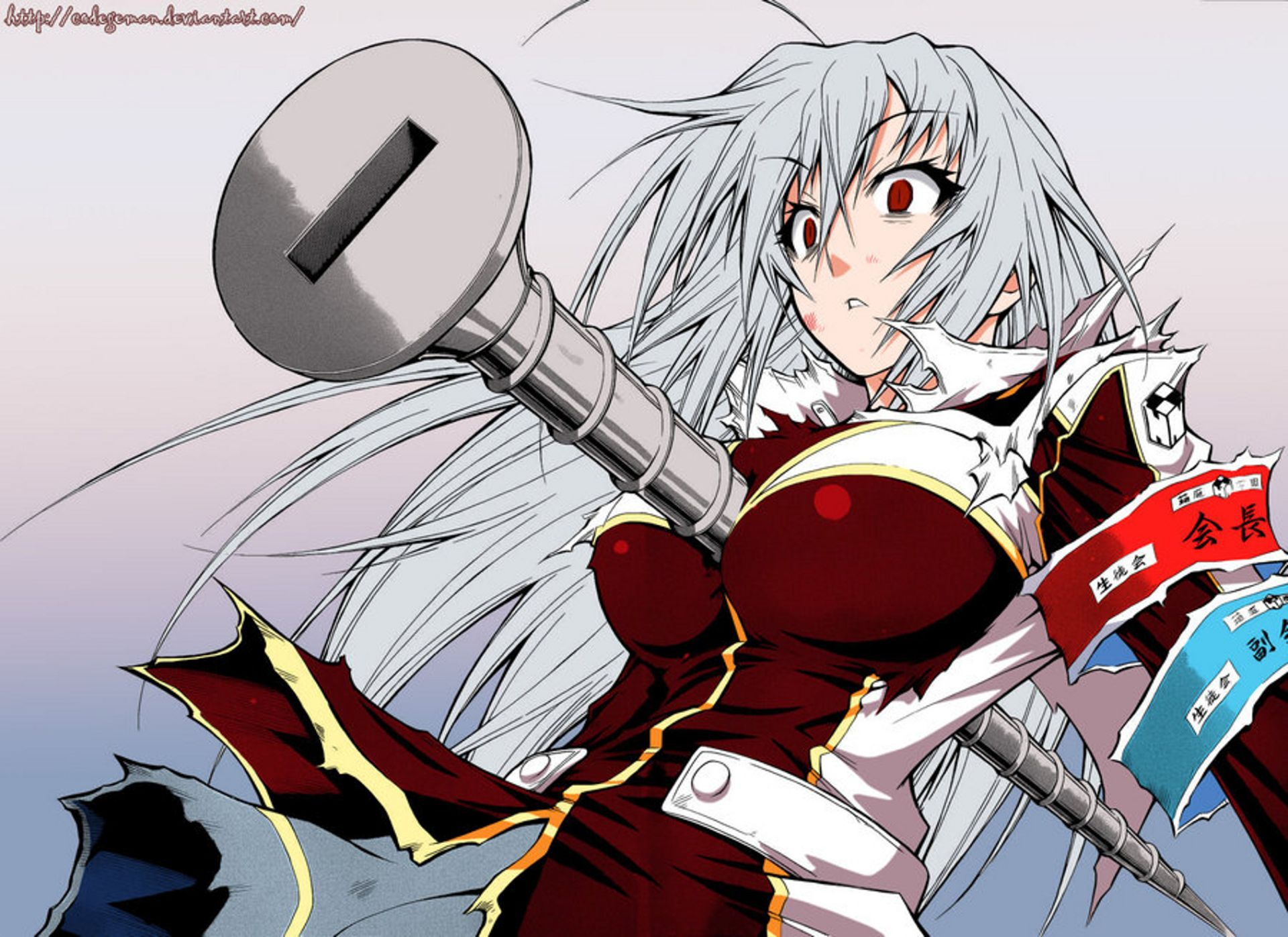 Anime Medaka Box Wallpaper | ANIME | Pinterest | Medaka box and Anime