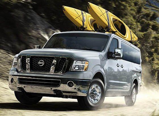 NV 3500 Pass Van II | 12 passenger van, Nissan, Nissan vans