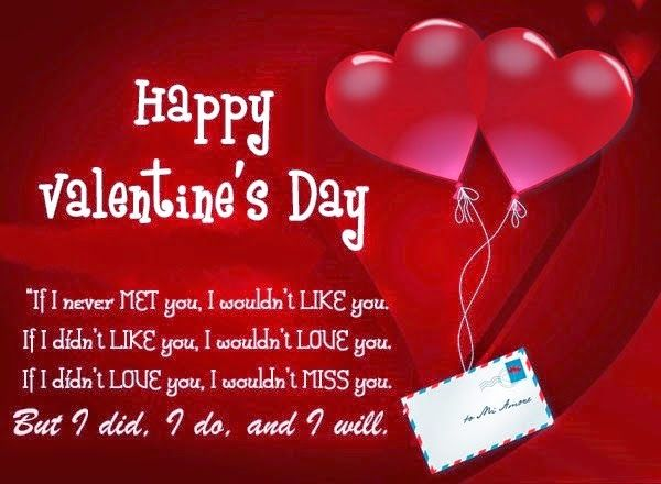 romantic valentine day quotes for husband wife friends