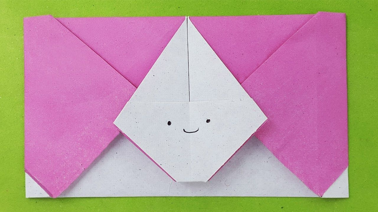 Origami Envelope A4 - Red Ted Art - Make crafting with kids easy & fun | 720x1280
