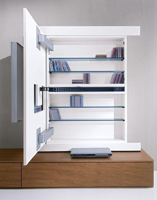 tv unit move able front for hidden storge wohnen deko pinterest wohnzimmer m bel und. Black Bedroom Furniture Sets. Home Design Ideas