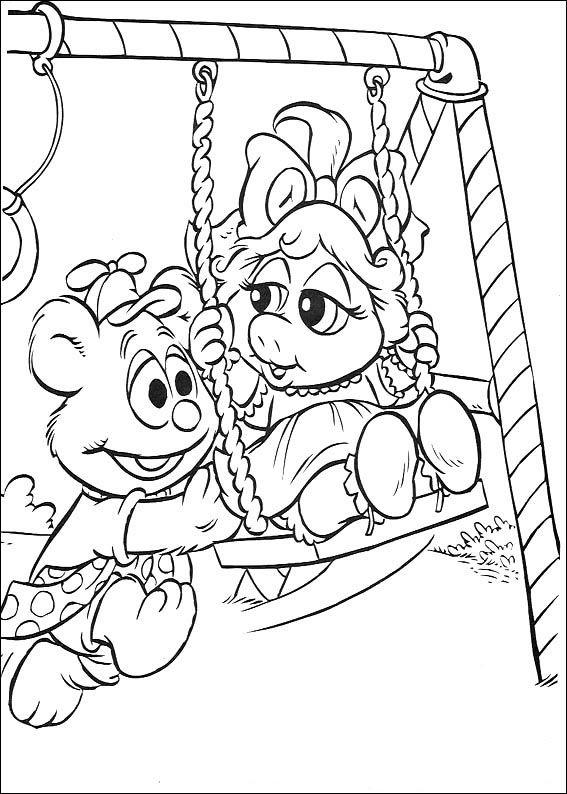 Muppets Fargelegging Tegninger 28 Paginas Para Colorear