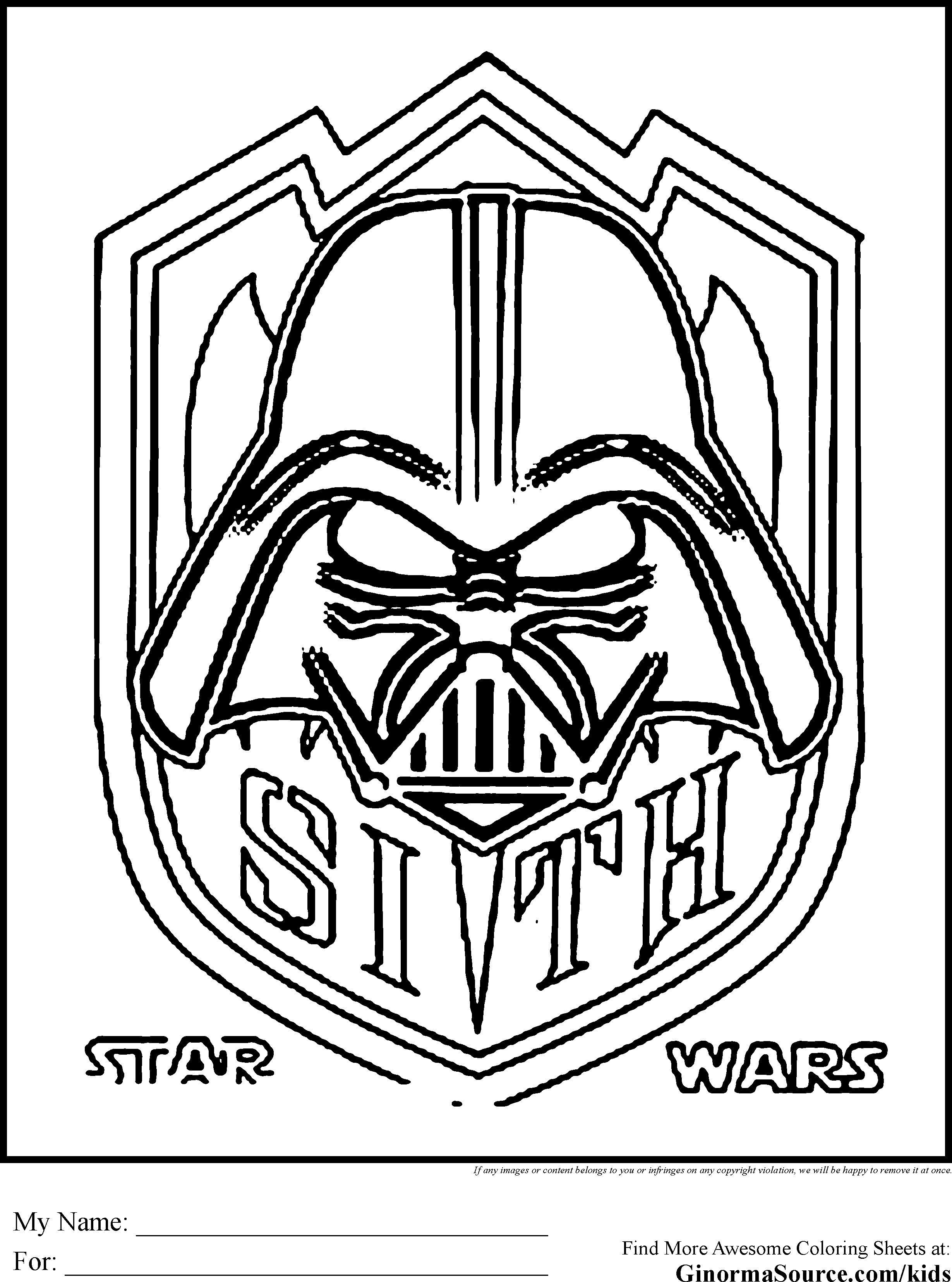 Starwars Coloring Pages New Star Wars Coloring Pages Sith Coloring Pages Pinterest Free Entitlementtrap Com Star Coloring Pages Star Wars Coloring Sheet Coloring Pages For Kids