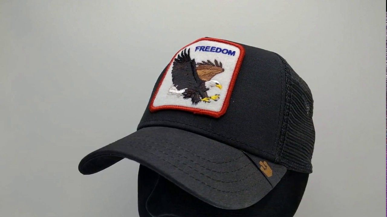 2187a9cd45 Goorin Bros. Freedom Trucker cap - black - €34