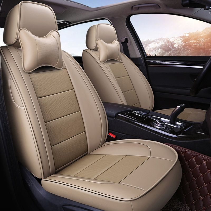 Us 240 00 Yuzhe Auto Leather Car Seat Covers For Jeep Grand Cherokee Wrangler Patriot Compass Auto Cherokee Compass Covers Grand Jeep Leather Patrio