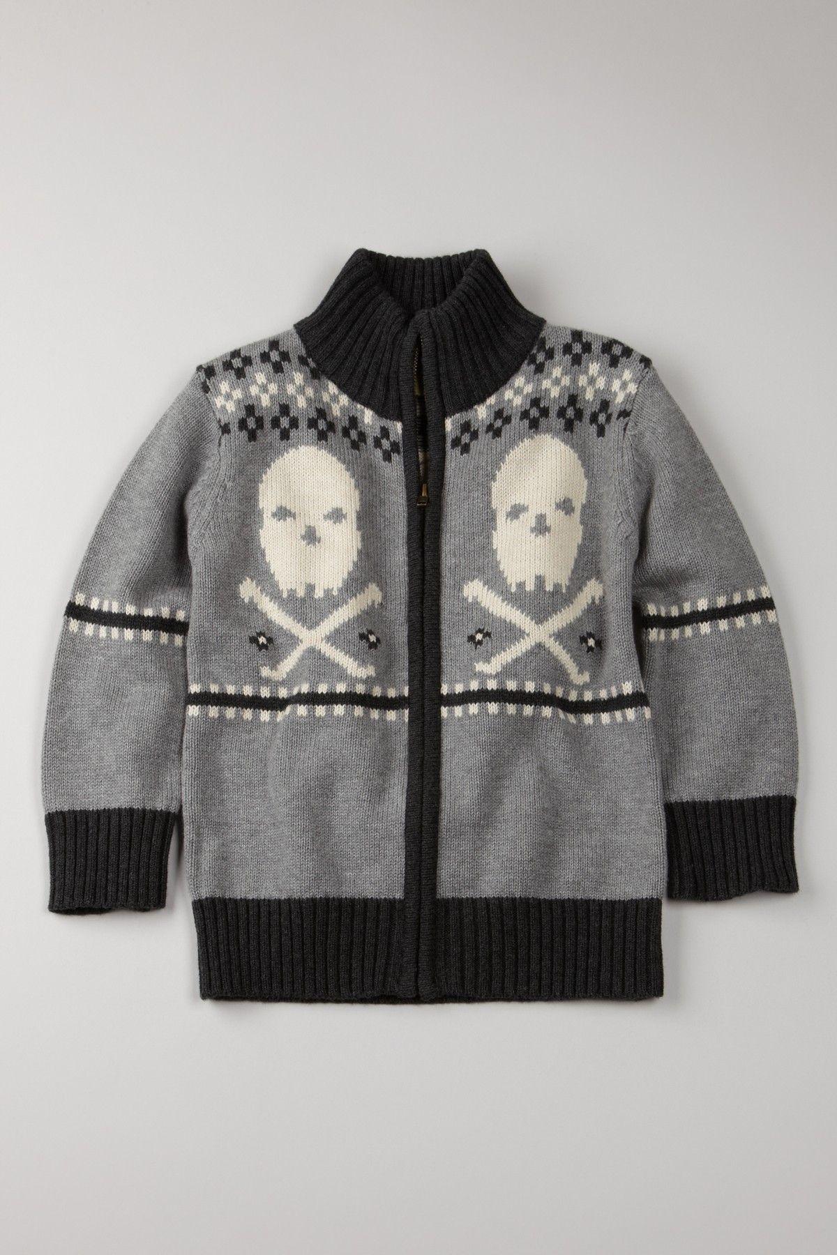 Skull Sweater for Toddlers (Monster Republic via HauteLook ...