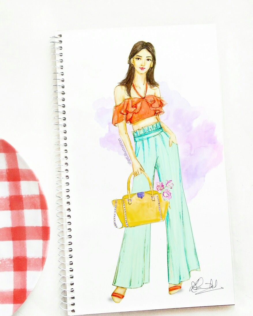 Fashion Sketch Womensfashion Fashionillustration Summerstyle Artwork Fashion Sketches Dresses Dress Design Sketches Fashion Drawing Dresses