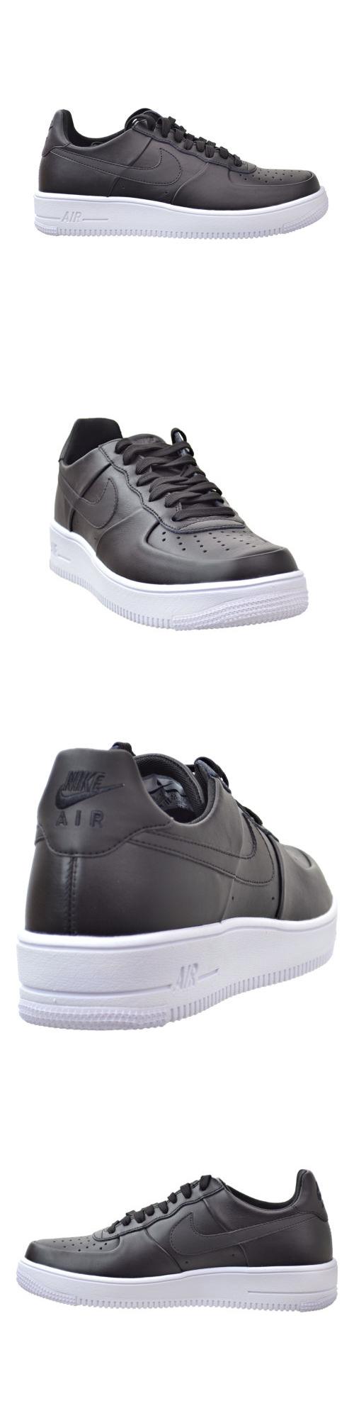gli uomini le scarpe nike air force: 1 ultraforce mens scarpe pelle nera