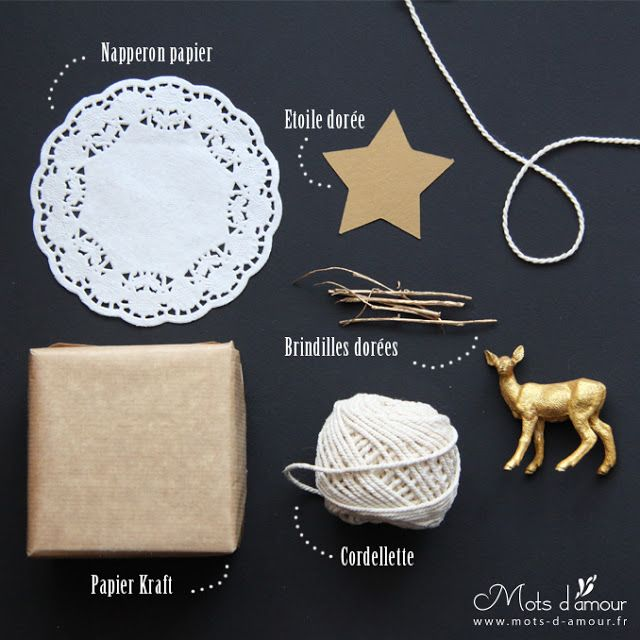 CHRISTMAS WRAPPING IDEAS (DIY)