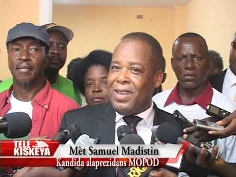 NEWS ON HAITI http://evememorial.org/ Présidentielles 2015: Me Samuel Madistin s'est inscrit au CEP ce 19 mai ...