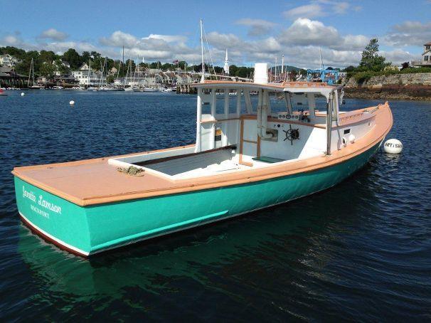 1961 Jonesport Lobster Boat Power Boat For Sale Wwwyachtworldcom