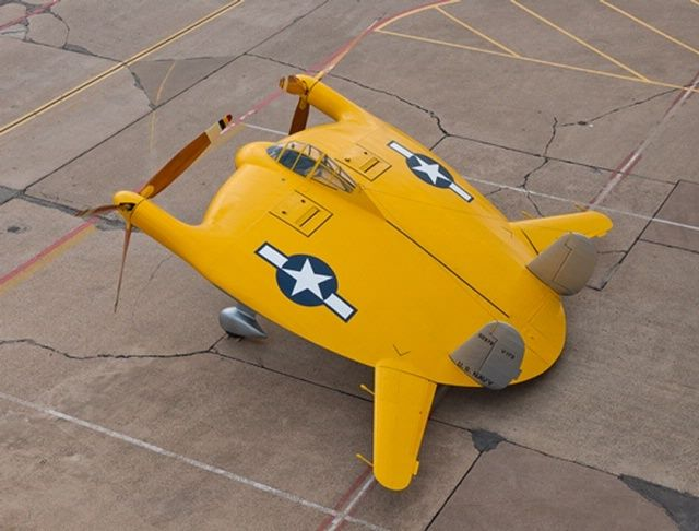 Chance Vought V 173 Flying Pancake R C Model Airplane Plans