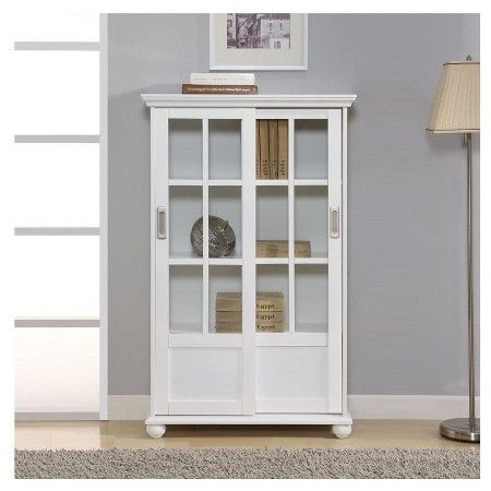 Bookcase With Gl Doors