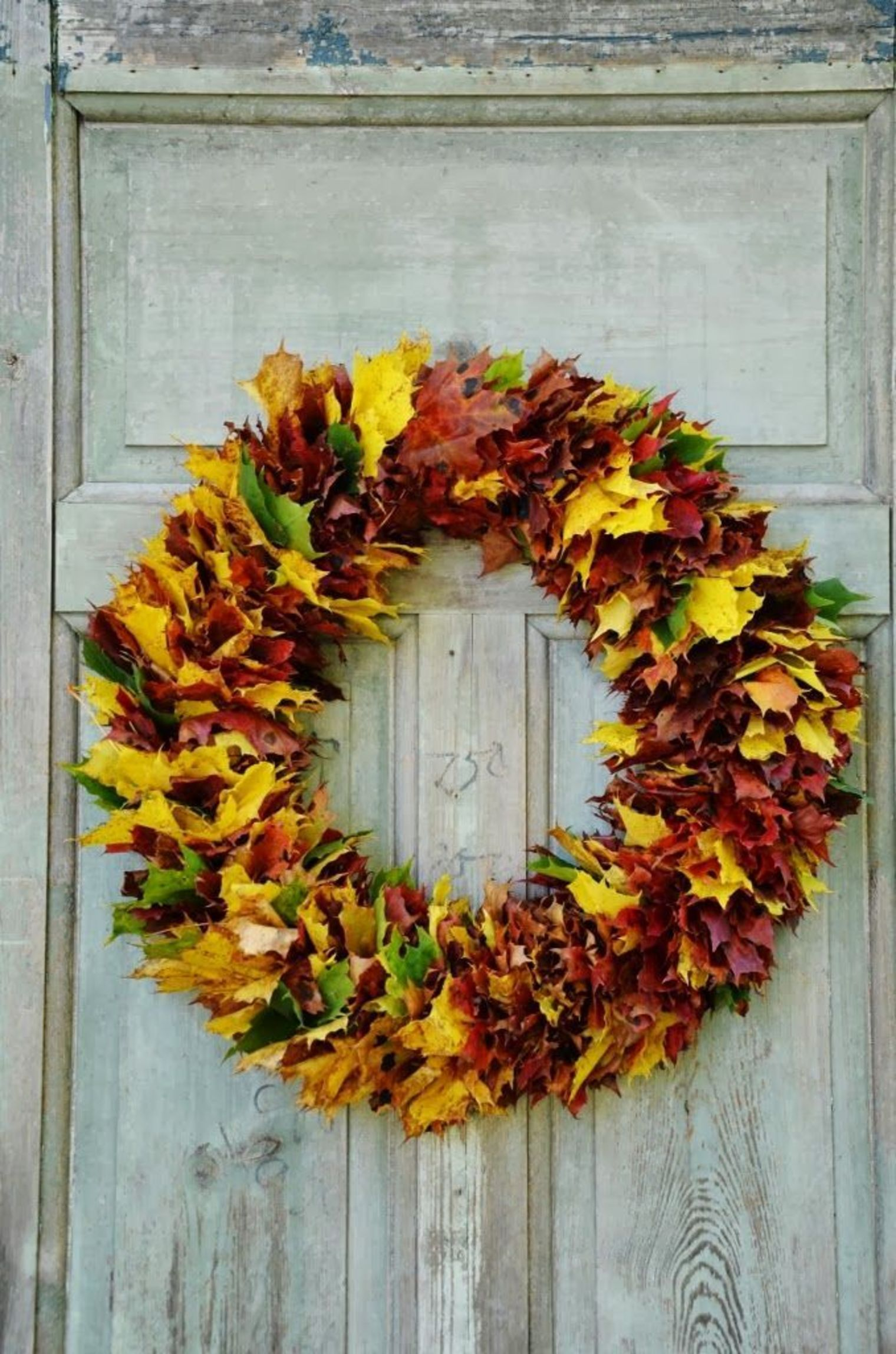 DIY feuilles mortes  idées déco automne