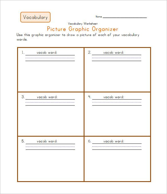 Pin by Joyce on Editable templates | Vocabulary worksheets ...