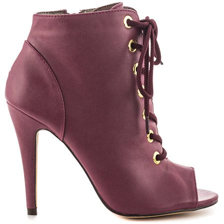 Explore Red High Heels, Shoes High Heels, and more! Mercarol - Cranberry PU  by Michael Antonio