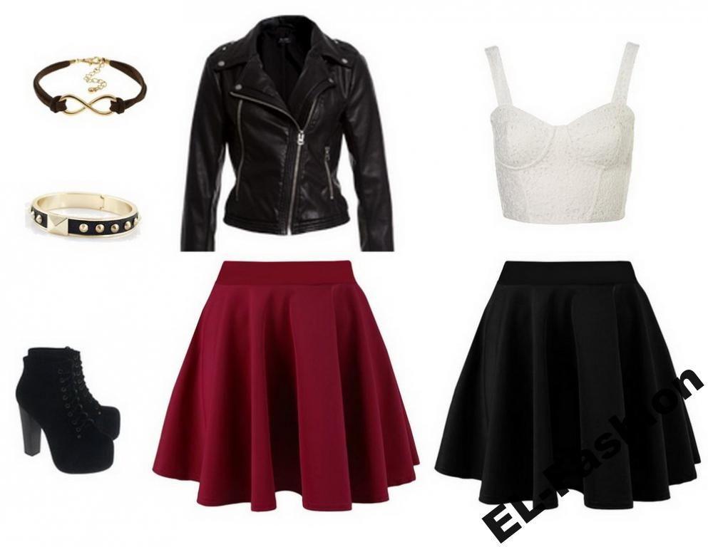 Rozkloszowana Spodnica Z Kola Kieszenie Kolory 36 3647870976 Oficjalne Archiwum Allegro Clothes Fashion Skirts
