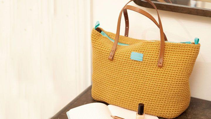 Crochet Day Bag Free Pattern From Modern Crochet By Molla Mills