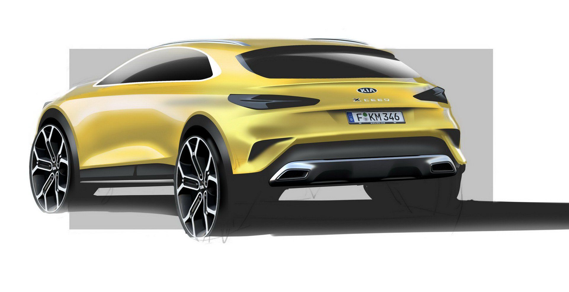 New 2020 Kia Xceed Unveiled As The Korean Brand S New Cuv For Europe Carscoops Kia Korean Brands Kia Ceed