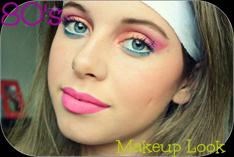 80 S Makeup Tutorial 80er Jahre Make Up Schminkzeug Schone Augen