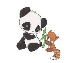 Dessin Panda Roux Drawing Cute Panda Disney Characters